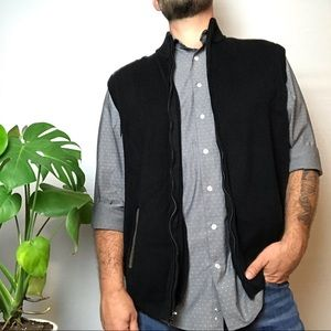 Chaps full zip sweater vest new with tags XXL
